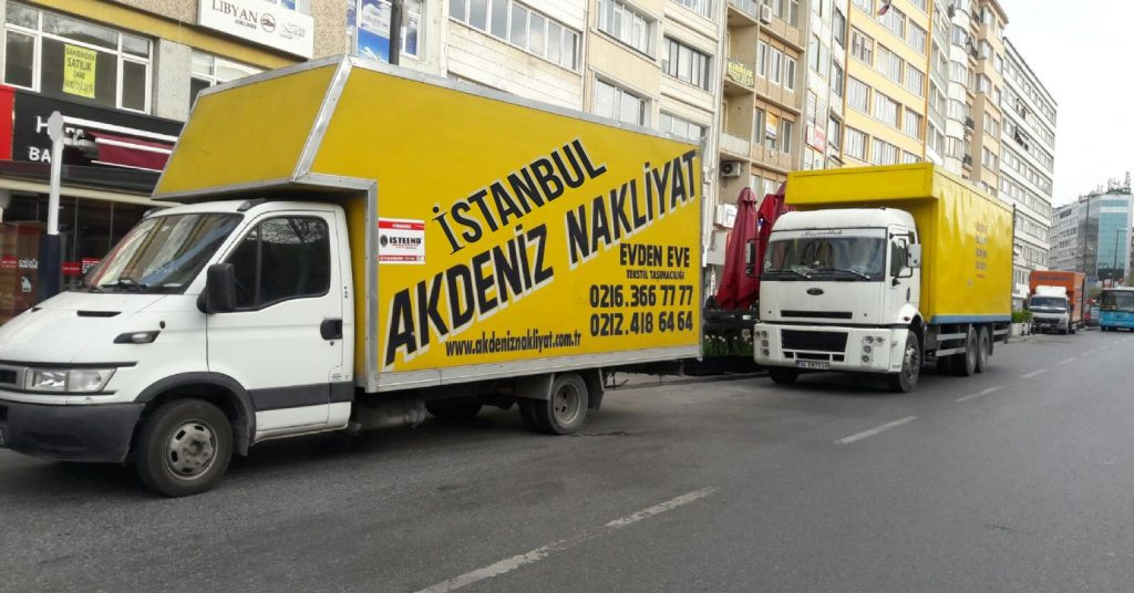 Antalya İstanbul arası parça eşya taşıma