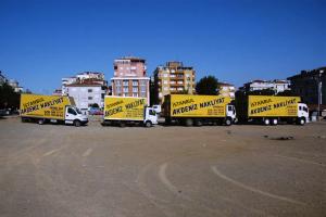 İstanbul şehir içi nakliye kamyon, kamyonet